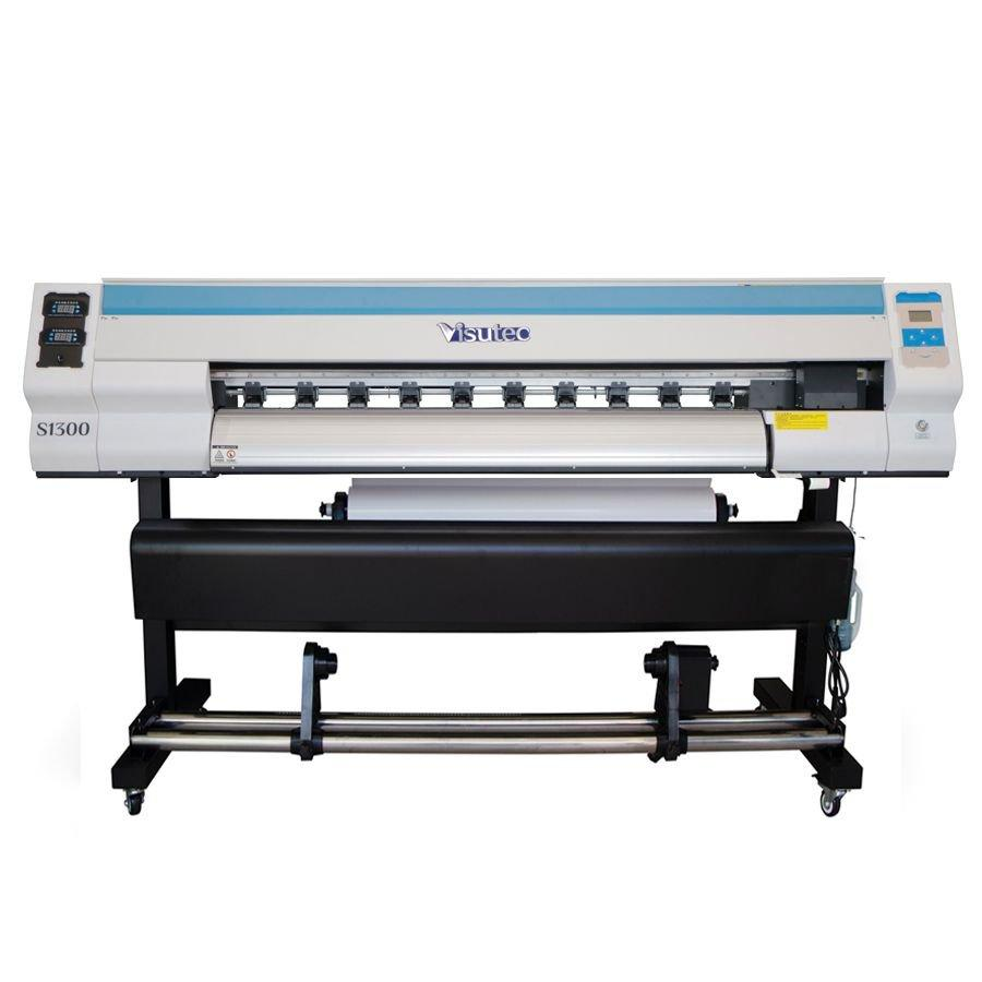 Plotter de Impressão Digital S1300 com Take up e Aquecedor VISUTEC